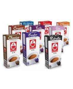 קפסולות מארז טעימות בוניני לנספרסו - Nespresso