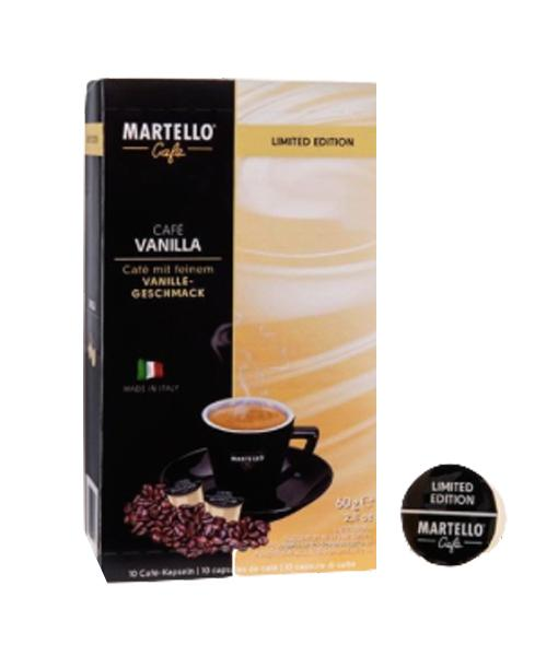 קפסולות וניל מרטלו vanilla coffee