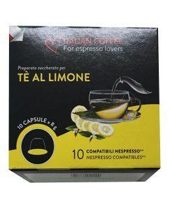 קפסולות תה לימון לנספרסו- Nespresso