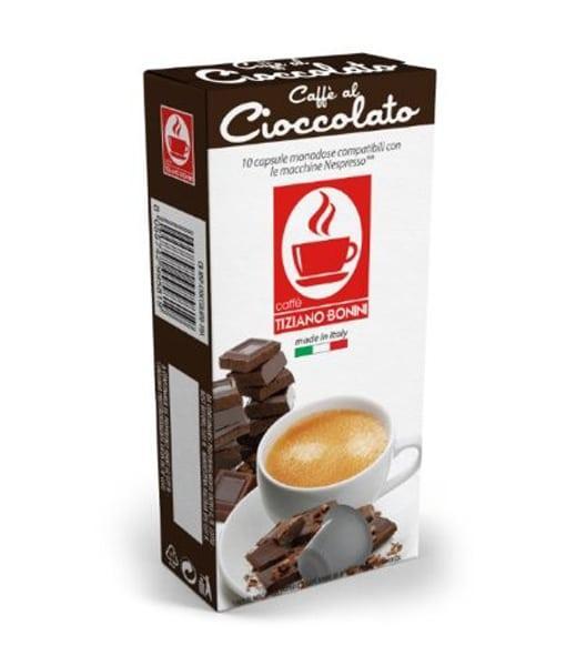מדהים קפסולות לנספרסו בוניני שוקולד- Nespresso - Minuto SB-77