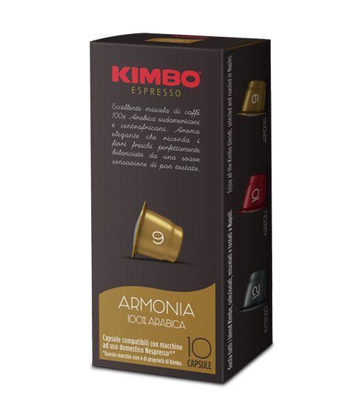קפסולות קימבו ארומניה לנספרסוNespresso
