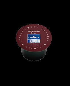 קפסולות לוואצה בלו אספרסו דולצ׳ה 100% ערביקה - LavAzza Blue Espresso Dolce