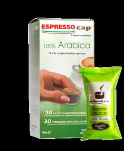 קפסולות ערביקה אספרסו קאפ