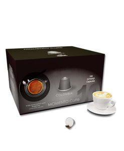 קפה מומנטו קולומביה תואם נספרסו