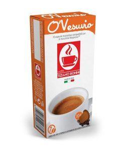 קפסולות בוניני O'Vesuvio תואמות נספרסו - Nespresso