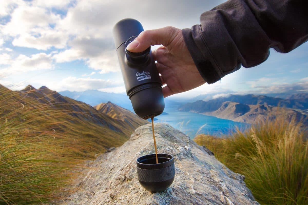 מכונת קפה לשטח