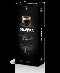 קפסולות Gimoka Vellutato תואם נספרסו - 100% ערביקה