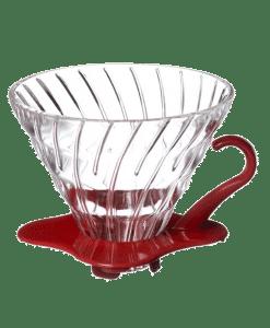מעמד לקפה פילטר 2 כוסות מזכוכית הריו