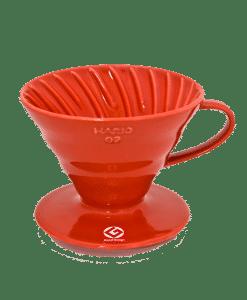 מעמד לקפה פילטר 1 כוס V60 מקרמיקה הריו