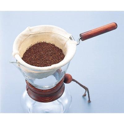 קנקן טפטוף עם פילטר בד- Hario Woodneck Drip Pot 240