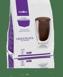 קפסולות דולצ'ה גוסטו גימוקה אספרסו שוקו- Gimoka Espresso Cioccolata