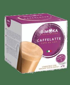 קפסולות דולצ'ה גוסטו גימוקה אספרסו קפוצ'ינו- Gimoka Espresso Latte