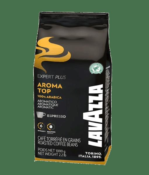 Lavazza Aroma top 100% arabica Beans פולי קפה לוואצה ארומה טופ