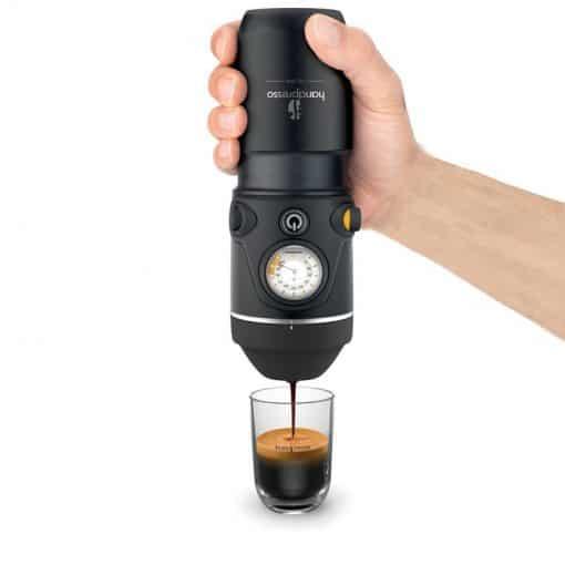 הנדפרסו חשמלי לרכב - קפה טחון ופודים - Handpresso