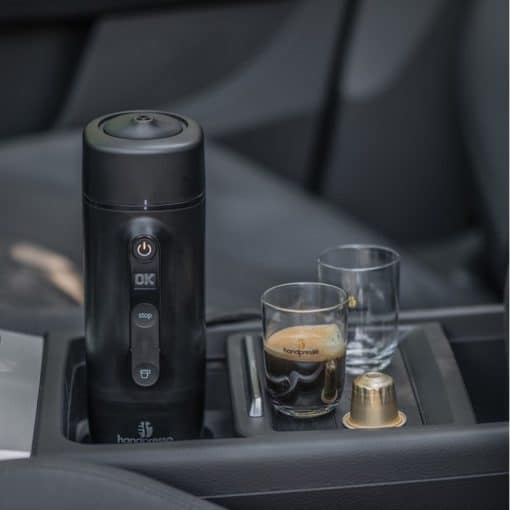 הנדפרסו לרכב - קפסולות נספרסו - Handpresso