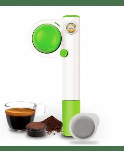 הנדפרסו מכונת אספרסו ידנית לשטח Handpresso Pump Pop green
