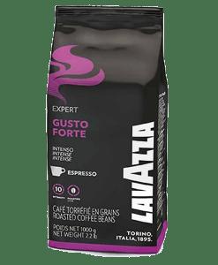 פולי קפהלוואצה Lavazza coffee beans gusto forte 1kg