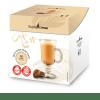 קפסולות תואם דולצ׳ה גוסטו קפה לאטה- אספרסו מור