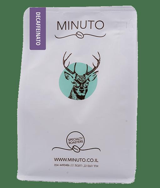 פולי קפה מינוטו נטול קפאין - Decaffeinato