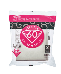 נייר פילטר לקפה 2 כוסות