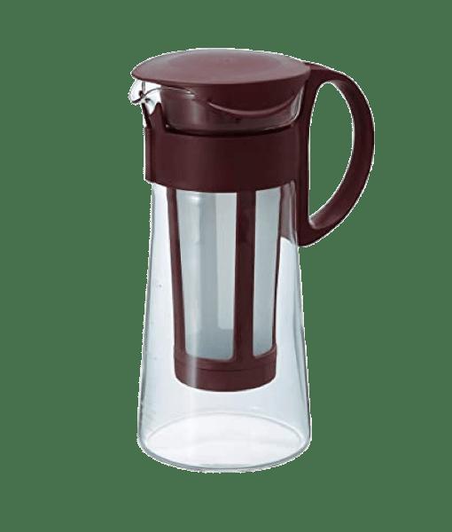 MIZUDASHI HARIO קנקן למיצוי קפה קר בהשרייה - Cold Brew - חום שוקולד