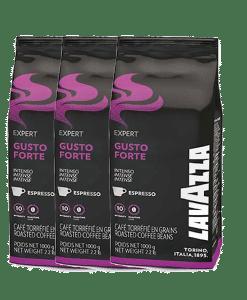 פולי קפה לוואצה Lavazza coffee beans gusto forte 3kg
