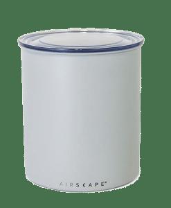 קופסת אחסון קפה AIRSCAPE כ- 1 ק״ג קפה צבע אפור