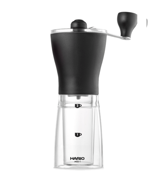 Hario Ceramic Coffee Mill, Mini Slim- מטחנת קפה קונית הריו מיני סלים