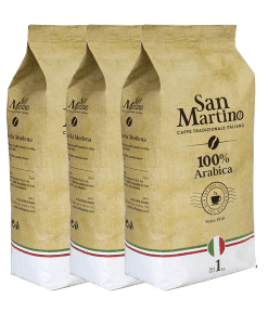 3 ק״ג פולי קפה San Martino סן מרטינו 100% ערביקה איטליה