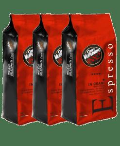 קפה ורניאנו Caffe Vergnano 1882 espresso miscela(האדום)