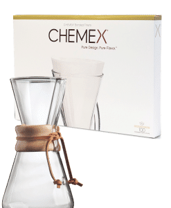 CHEMEX - פילטר נייר קמקס 1-3 כוסות(חצי ירח)