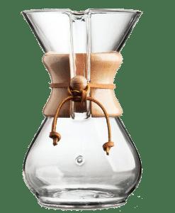CHEMEX - קנקן פילטר קמקס עם חבק עץ 8 כוסות
