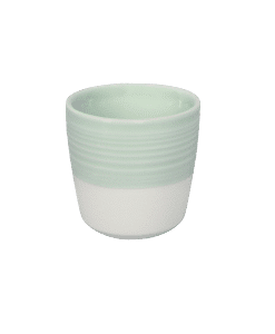 "דייל האריס ""CHAMPIONS SIGNATURE"" כוס אספרסו צבע לבן ירוק"
