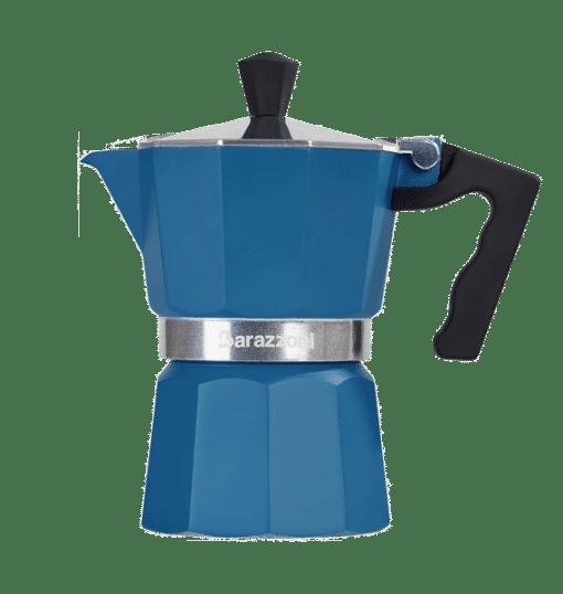 מקינטה 3 כוסות צבע כחולה - Barazzoni Colorata