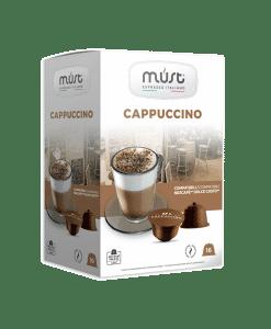 קפסולות Must Cappuccino Gusto - קפוצ׳ינו לדולצ'ה גוסטו