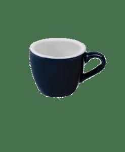 """כוס אספרסו וצלוחית 80 מ""""ל Loveramics צבע כחול"""